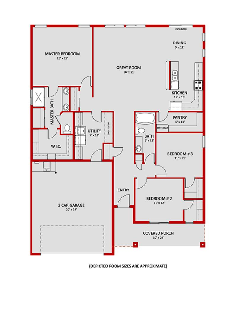 Lewiston Floorplan